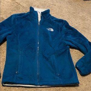 The north face Oslolita fuzzy full zip jacket